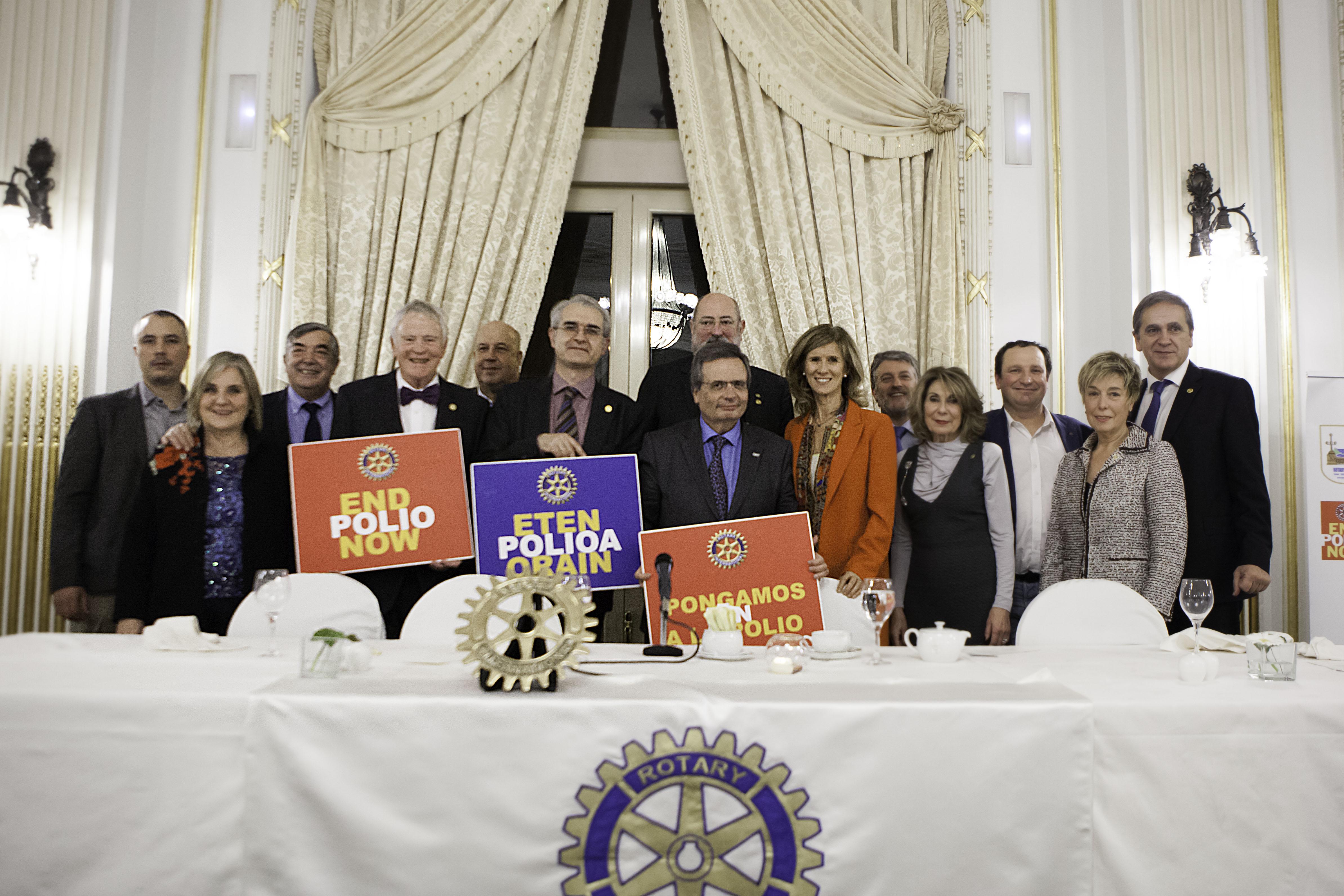 Rotary_Garmedia y Matesanz